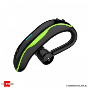 Wireless Bluetooth Earphone Stereo Noise Cancelling Sports Handsfree Headset With Mic - Green