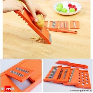 7pcs Multifunctional Vegetable Shredder Cutter Peeler Fruit Potato Corrot Cutter