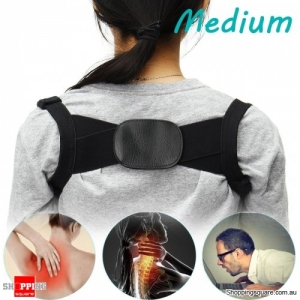 Adjustable Humpback Correction Belt Spine Posture Corrector Pain Relief Corrector Brace - M