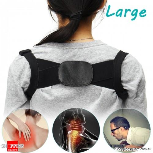 Adjustable Humpback Correction Belt Spine Posture Corrector Pain Relief Corrector Brace - L