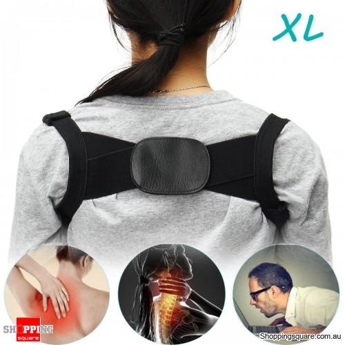 Adjustable Humpback Correction Belt Spine Posture Corrector Pain Relief Corrector Brace - XL