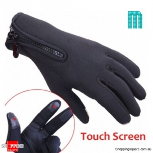 Outdoor Winter Sports Bike Cycling Skiing Touch Screen Gloves - M