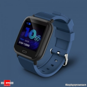 "Dynamic UI 1.3"" TFT Bluetooth 5.0 Smart Watch Bracelet - Blue"
