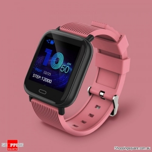 "Dynamic UI 1.3"" TFT Bluetooth 5.0 Smart Watch Bracelet - Pink"
