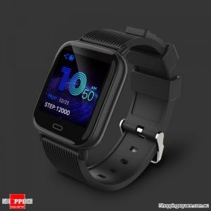 "Dynamic UI 1.3"" TFT Bluetooth 5.0 Smart Watch Bracelet - Black"
