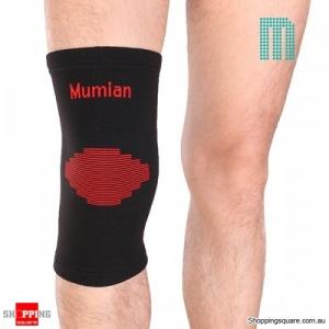 1pc knitting Warm Sports Knee Pad Knee Protector Sleeve Brace - Medium