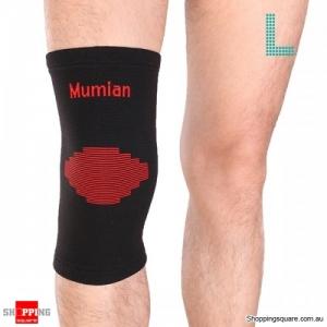 1pc knitting Warm Sports Knee Pad Knee Protector Sleeve Brace - Large