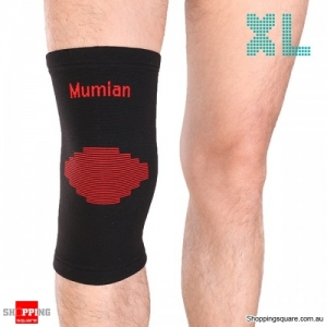 1pc knitting Warm Sports Knee Pad Knee Protector Sleeve Brace - XL