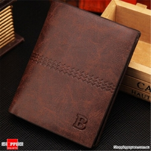 Wallet PU Leather Purses Soft Card Case Card Holder - Light Coffee
