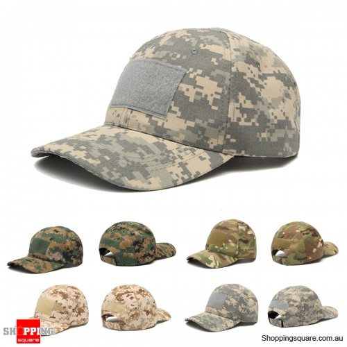 Adjustable Camping Tactical Camouflage Travel Sunscreen Baseball Cap - ACU