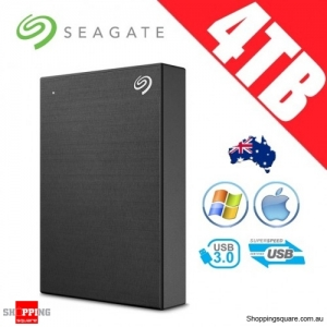 Seagate Backup Plus Portable 4TB 2.5in Portable Hard Disk Drive Black