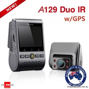 Viofo A129 Duo IR Dual Lens Dual Channel Dash Cam With GPS For Uber Taxi