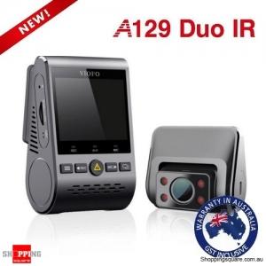 Viofo A129 Duo IR Dual Lens Dual Channel Dash Cam For Uber Taxi