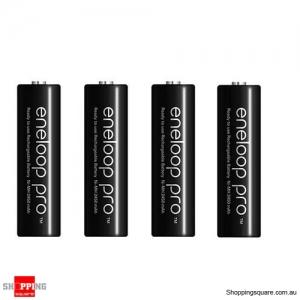 4pcs Panasonic Eneloop Pro - AA NiMH Rechargeable Batteries
