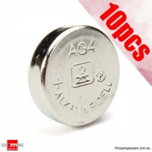 10Pcs AG4 LR626 377 SR626 177 1.5V Watch Batteries Cell Button Watch Battery