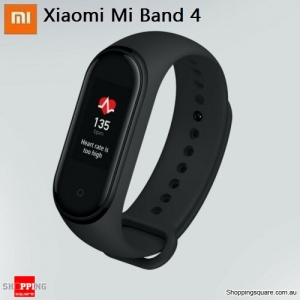 Xiaomi Mi Band 4 Heart Rate Smart Watch Wristband Fitness OLED Global Version Black Colour