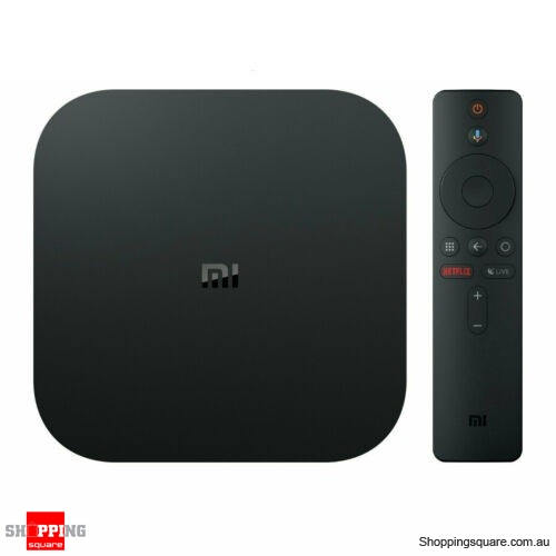 Xiaomi MI BOX S Android 8.1 Smart 4K Mi TV Box HDR Google Cast