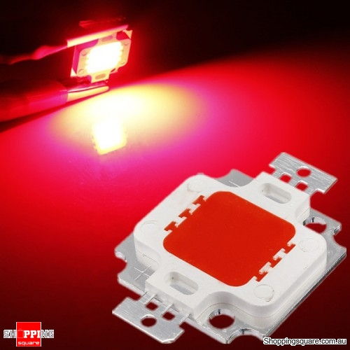 350-400LM 10W High Power LED Chip Light Lamp Accessories - Red