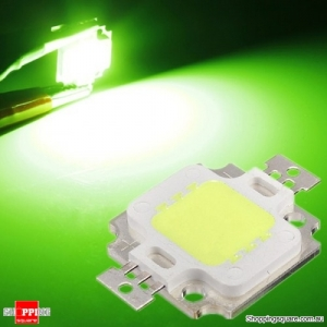 350-400LM 10W High Power LED Chip Light Lamp Accessories - Green