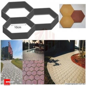 Garden DIY Plastic Path Maker Cement Brick Mold Manually Paving Courtyard - No.1