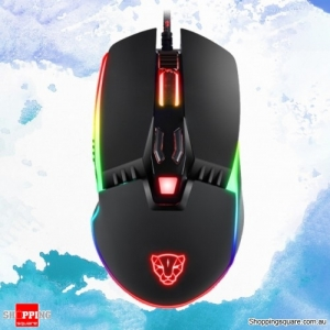 Catamount 8 Buttons 5000DPI RGB Backlit Wired Gaming Mouse