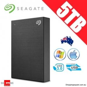 Seagate Backup Plus 5TB 2.5in Portable Hard Disk Drive Black