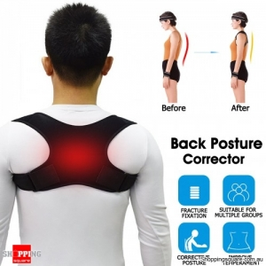Adjustable Back Brace Posture Corrector Support Brace Lumbar Lower and Upper Back Pain