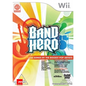 Band Hero Console Game - Nintendo Wii (preowned)
