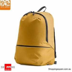 Xiaomi ZANJIA 11L Lightweight Backpack Waterproof Nylon Shoulder Bag Outdoor Travel - Yellow
