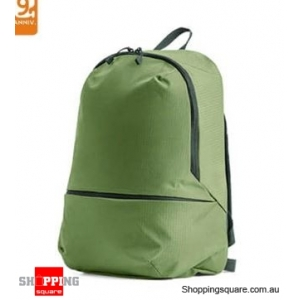 Xiaomi ZANJIA 11L Lightweight Backpack Waterproof Nylon Shoulder Bag Outdoor Travel - Green