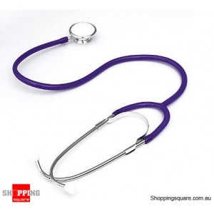 Dual Head EMT Heart Rate Medical Stethoscope - Purple