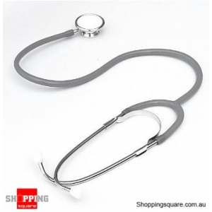 Dual Head EMT Heart Rate Medical Stethoscope - Grey