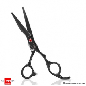 6-inch Stainless Steel Salon Hair Scissors Thinning Cutting Barber Shears - 1 Flat Shear