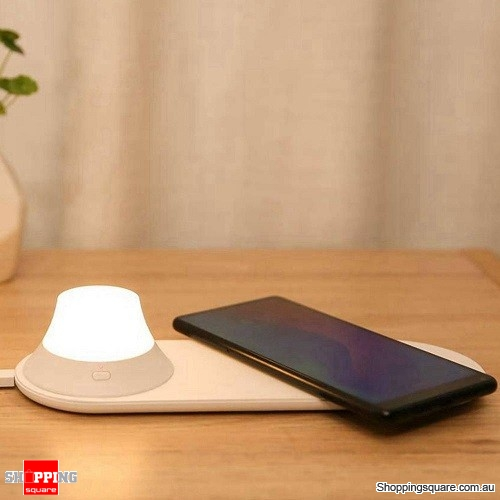 Xiaomi Yeelight Wireless Charger with LED Night Light Magnetic Attraction Fast Charging For iPhone - AU Stock