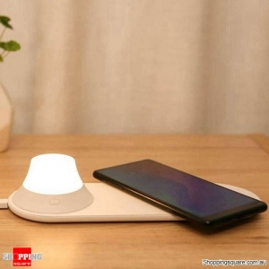 Yeelight Wireless Charger with LED Night Light Magnetic Attraction Fast Charging For iPhone