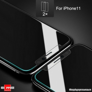 2x NUGLAS 2.5D Clear Tempered Glass Screen Protector for iPhone 11, XR
