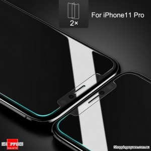 2x NUGLAS 2.5D Clear Tempered Glass Screen Protector for iPhone 11 Pro