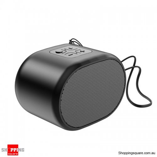 Portable Wireless Mini Bluetooth5.0 Speaker Audio Bass - Black