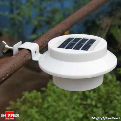 Solar Fence Light LED Waterproof LED Garden Landscape Lighting Night Light