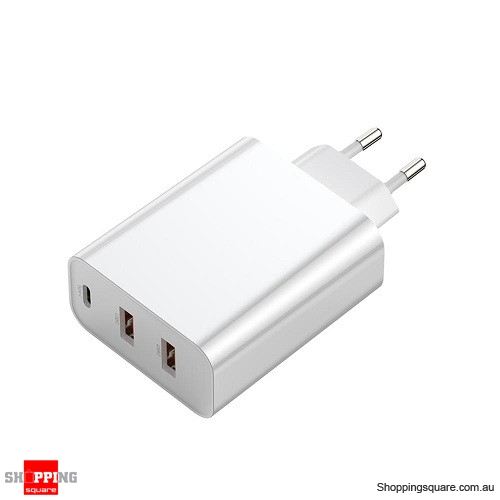 Baseus PPS 5A 3 Quick Charge 4.0 3.0 60W EU Charger Adapter - White