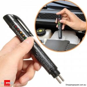 Portable Mini LED Car Brake Fluid Tester Pen Brake Liquid Detector Vehicle Diagnostic Tool