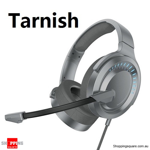 Baseus X Bongiovi Gaming Headphone For PUBG Earphone With Mic 3D Surround Stereo Headset - Tarnish