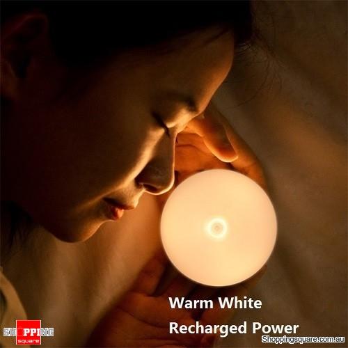 Baseus LED Night Light PIR Intelligent Motion Sensor Nightlight Warm White (Recharged Power)