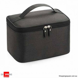 Waterproof Travel Portable Wash Bag Storage Bag Organizer - Black