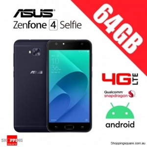 Asus Zenfone 4 Selfie 64GB ZD553KL 4G LTE Unlocked Smart Phone Black
