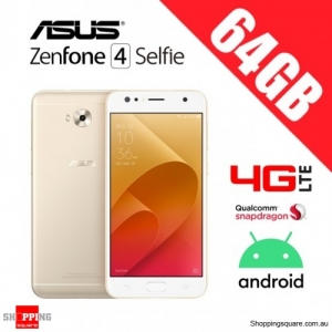 Asus Zenfone 4 Selfie 64GB ZD553KL 4G LTE Unlocked Smart Phone Gold