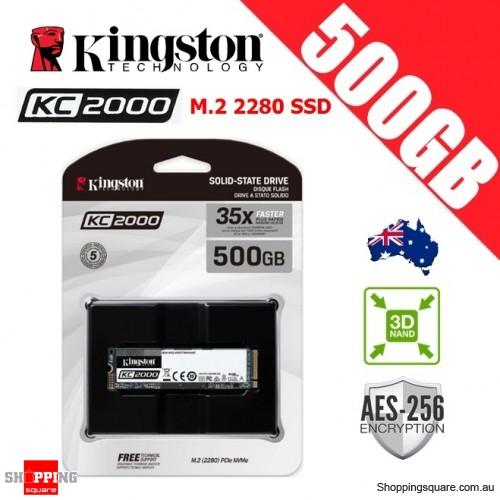 Kingston KC2000 500GB M.2 2280 3D NAND TLC Solid State Drive