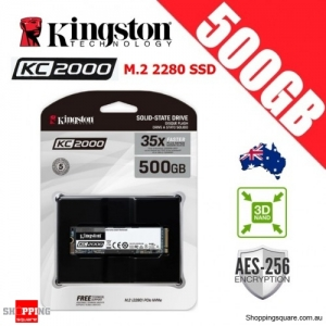 Kingston KC2000 500GB M.2 2280 3D NAND TLC Solid State Drive
