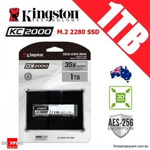 Kingston KC2000 1TB M.2 2280 3D NAND TLC Solid State Drive