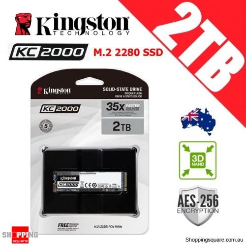 Kingston KC2000 2TB M.2 2280 3D NAND TLC Solid State Drive